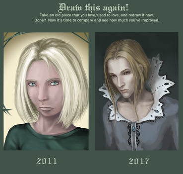 Draw this again 2011/2017 by dragon--of--fate