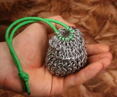 Chainmai Dice Bag by DracoLoricatus