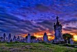 St. Georges Graveyard hdr by petervanallen