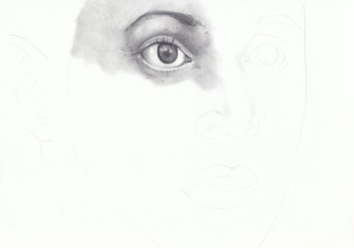 What Pretty Eyes WIP by TalkingPencil
