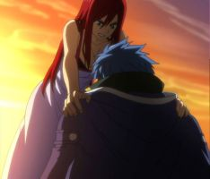 Jellal x Erza by DawnTomorrow