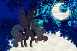 +-+Wallpaper+-+ Luna by Cookie-Le-Creepe