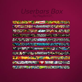 Userbars Box by PlayBoY27