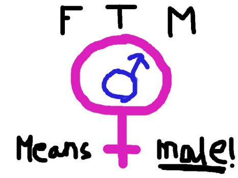 FtM Means Male! by MrScottishGuy