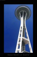 Space Needle of Seattle by SacrificialS