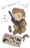 RE6 - Chibi Sniper by PicMurasaki