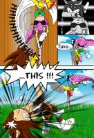 :CE: Mery VS Spike 3 of 4 by Mery-the-Hedgehog