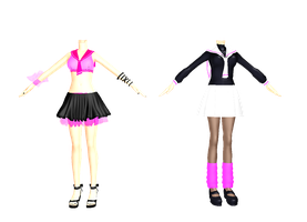 ~MMD Summer and Winter Cheer~ by SamawaraSama