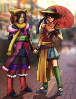 sokka n zuko on Cuba St by Go-Devil-Dante