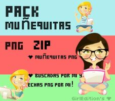 pack nenitas png by Girl-Editions