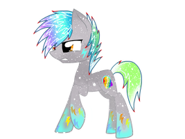 Galaxy Rainbowfied Living Tombstone by DigitBrony