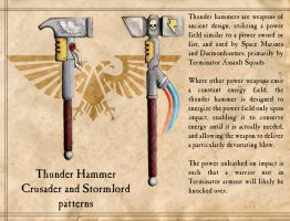 Thunder Hammers by Olovni