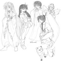 The Inu Groupies -Unfinished- by Issa-chan