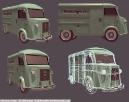 Finished Citroen HY van by teenagephoenix