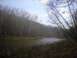 Walking along side the river by AnaturalBeauty