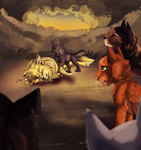 He is on his way to join Starclan by Phoenix-Brul-Plum