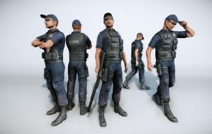 core (brazilian special forces) by opengraphics