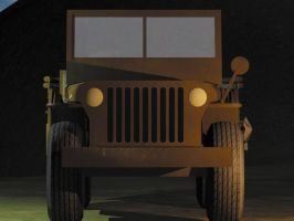 1944 jeep willy 2 by Ziddius