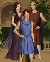 The Demigod Family by taytay20903040