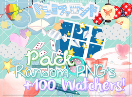 #1 Pack Png's +100 Watchers by MochiUsUk
