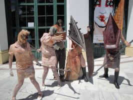 Silent hill group by moonlightspirit