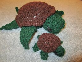 Crochet Turtles by jesspotter