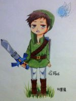 LeFloid as Link by 46Akuma-chanxD