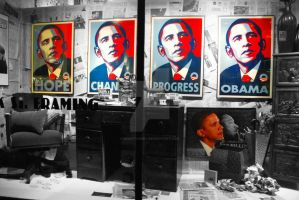 Framing Obama by BenoitAubry