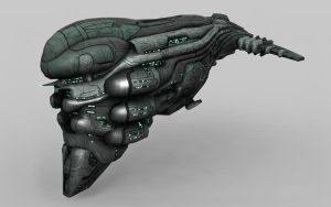 Gallente Battlecruiser-Brutix by Genious80