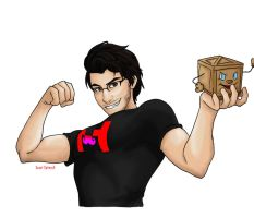 This is for Markiplier by sweet-optimus3