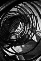 Spirals in Black and White by Katastrophey