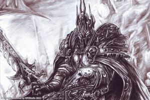 lich king by KondaArt