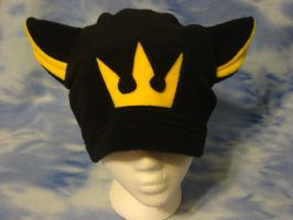 Yellow Kingdom Hearts Crown Kitty Hat by HatcoreHats