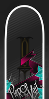 Pierce the Veil Sk8Board by B-boyAlfelor