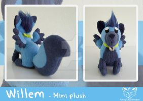 Willem - MINI plush by FurryFursuitMaker