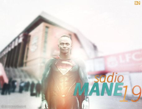 Super Sadio Mane   Wallpaper 2017 by EgzonNimani