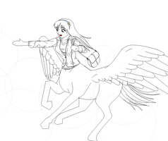 To Touch a Cloud - WIP by phantom-inker