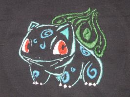 Embroidered Tribal Bulbasaur by nizati