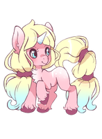 Pink Pony Adopt - OPEN. by lana-jay