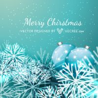 Christmas Background Free Vector by vecree