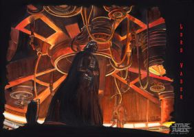 Lord Vader - Star Wars by LucasParolin
