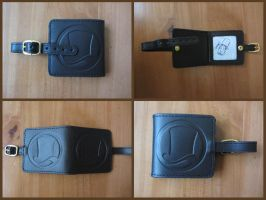 Professor Layton and the Miracle Mask Cardholder by BenjaminHunter