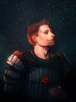 Alistair Theirin by StarshipSorceress
