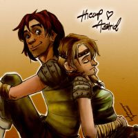 HTTYD2 Resting by Avannak, colored by me by inhonoredglory