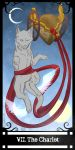 Speed Auction - YCH - Tarot card : VII - CLOSE by salainia
