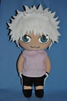 My second Killua Plush by Nati-picciui