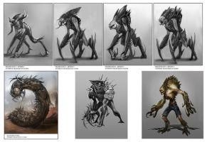 creatures by Ubermonster
