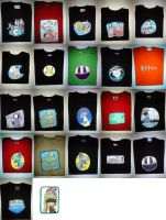 T-shirts by Kite-ridE