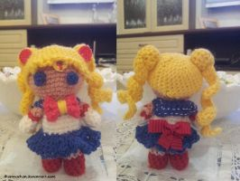 Sailor Moon Amigurumi by Dharmachan
