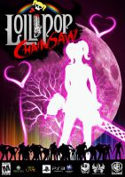 Game Poster: Lollipop Chainsaw by Jublypuff